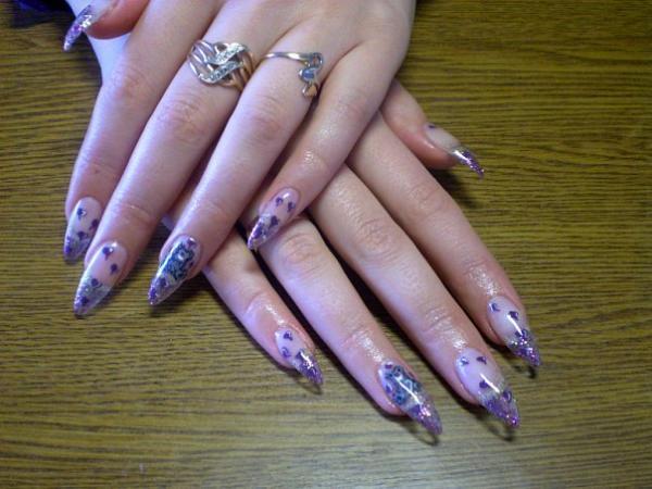 Дизайн ногтей биогелем на короткие ногти Богдан А-092 (2003)