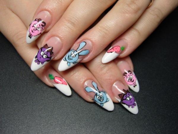 опал для дизайна ногтей: